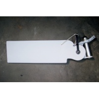 AquaFinn Complete Rudder Assem w/Post Poly Blade