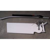 AquaFinn Complete Rudder Tiller Asm w/post Poly blade