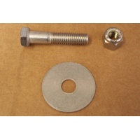 AquaFinn Rudder Bolt, Nut, Washer